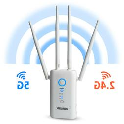 1200Mbps WiFi Range Extender WiFi Repeater Wireless Internet