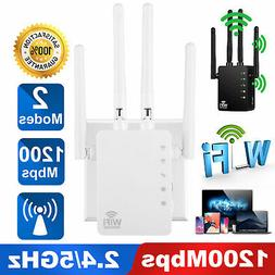 1200Mbps WiFi Repeater Wireless Extender Dual Band Booster R