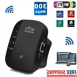 300Mbps Wifi Repeater Wireless Router Extender Signal Range