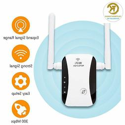 300Mbps Wireless WiFi Repeater Signal Super Booster Amplifie