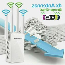 AC1200 1200Mbps Wifi Repeater Dual Band Wireless 300m Extend