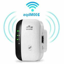 WiFi Range Extender Internet Booster Wireless Signal Repeate
