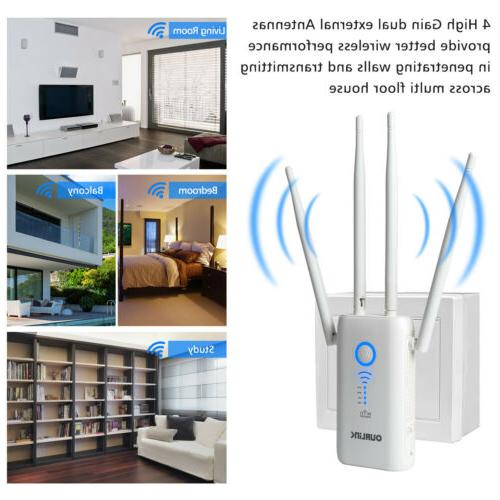 1200Mbps Extender WiFi Signal Booster