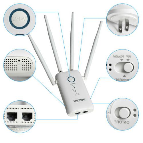 1200Mbps WiFi Internet Signal Booster