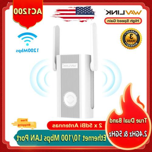 1200mbps wifi repeater and wireless range extender