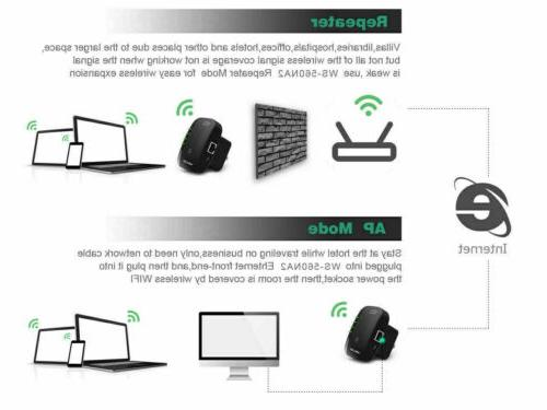 USA 300Mbps Repeater Wireless-N AP