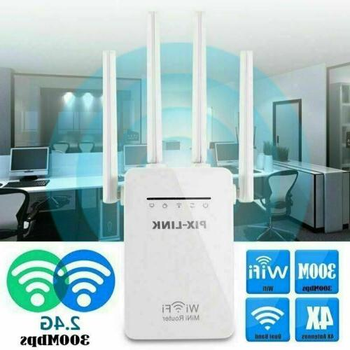 WiFi Extender Range Signal Booster Wireless Dual-Band Repeater 1200Mbps