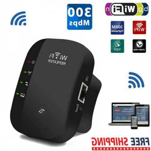 300mbps wifi repeater wireless router extender signal