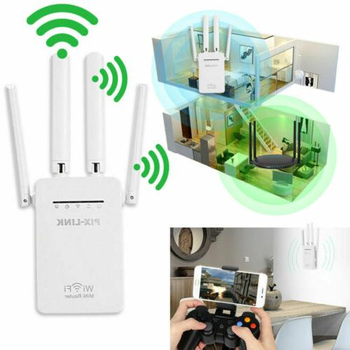 ac1200 wifi repeater wireless 300m extender router