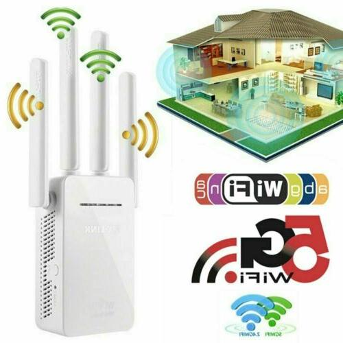 wifi extender range signal booster wireless dual