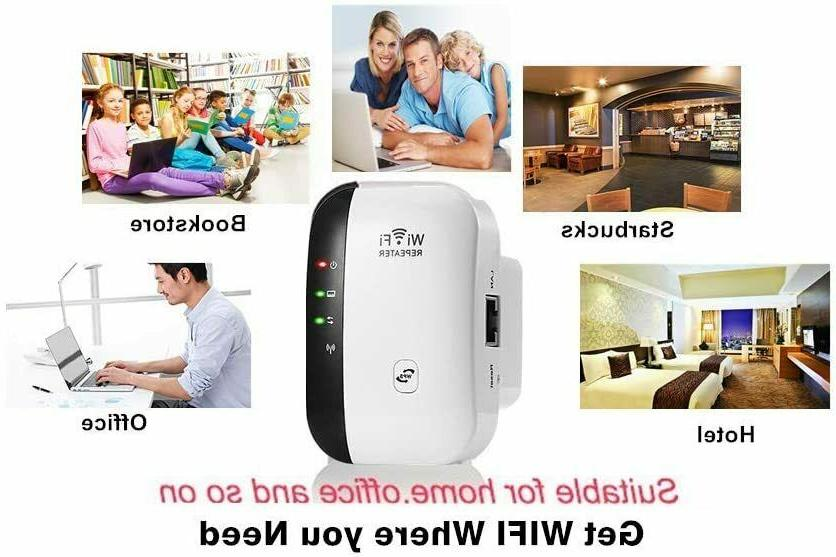 WiFi Booster Network Router Wireless Signal USA