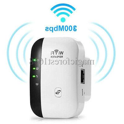 WiFi Booster 300Mbps Speed Wireless US