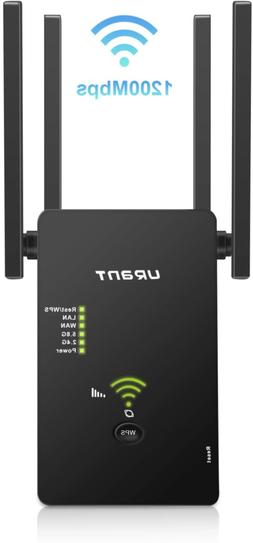 Super Boost WiFi Extender Signal Booster, Long Range up to 2
