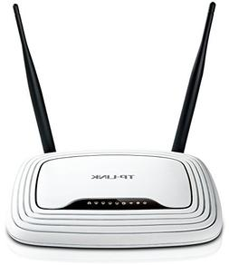 TP-LINK TL-WR841N Wireless N300 Home Router, 300Mbps, IP QoS