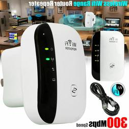 US 300MBPs Wireless WiFi Repeater Signal Amplifier Range Ext