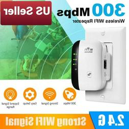 US 300Mbps Wireless WiFi Repeater Signal Super Booster Ampli