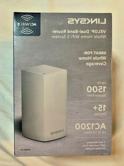 LINKSYS VELOP VLP0101-NP Dual Band AC1200 Mesh WiFi System N