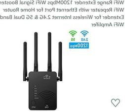 WiFi Range Extender 1200Mbps WiFi Signal Booster WiFi Repeat
